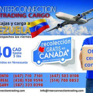 Envíos Aéreos a Venezuela desde Canadá