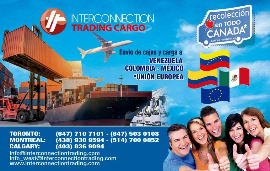 Envíos de carga aérea y marítima