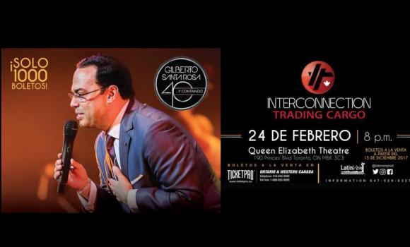 En febrero: Gilberto Santa Rosa en Toronto