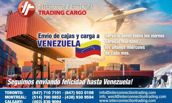 Envío de cajas y carga a venezuela