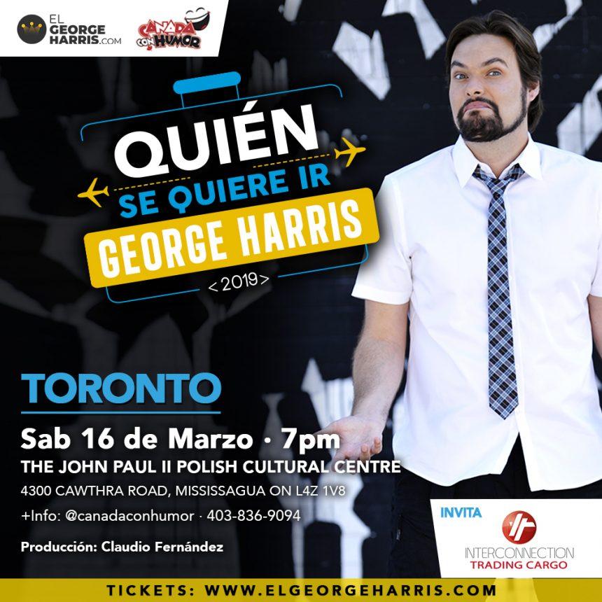 George Harris en Toronto