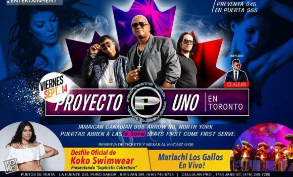 Proyecto Uno en Toronto