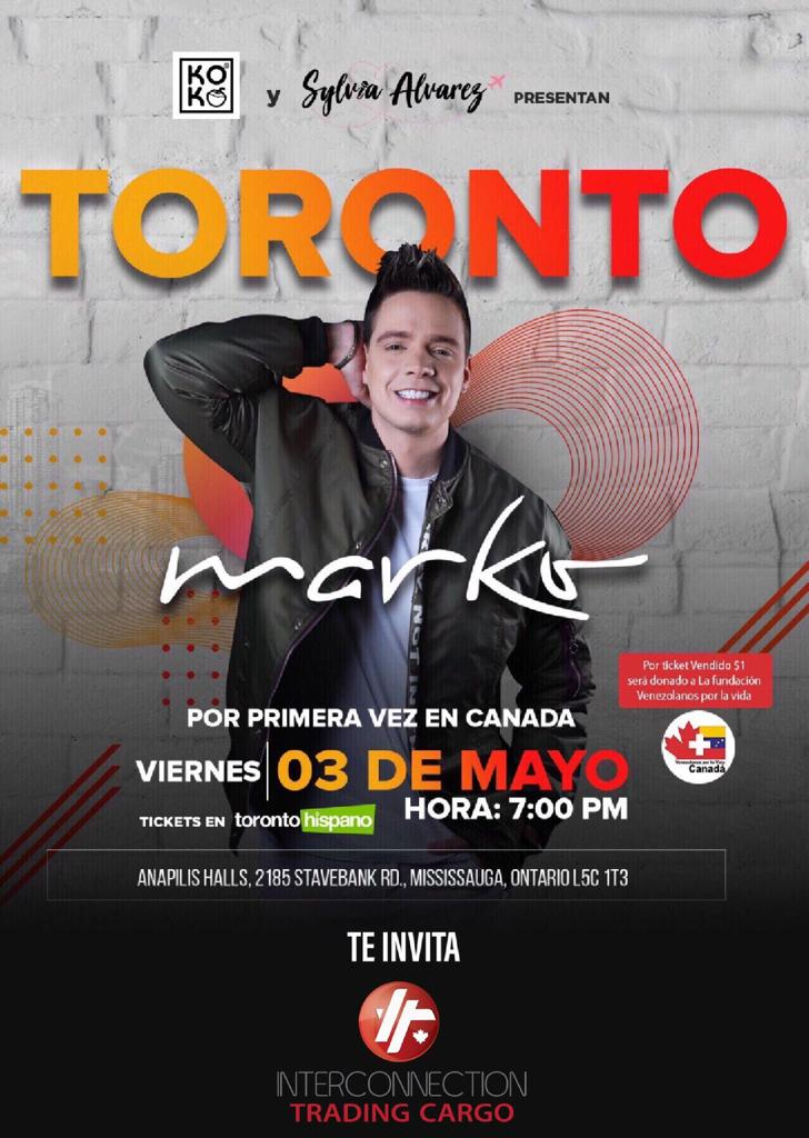 Por Primera Vez Marko en Toronto