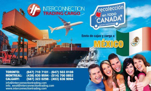 Envíos Aéreos a México Desde Canadá