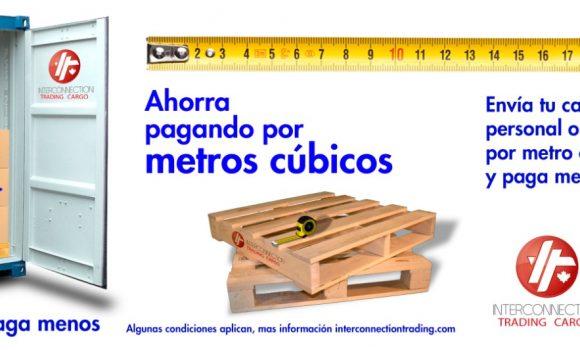 Envía por Metro Cúbico